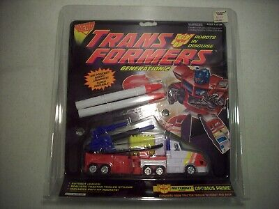 Transformers G2 Generation 2 Hero Optimus Prime (Brand New Sealed)