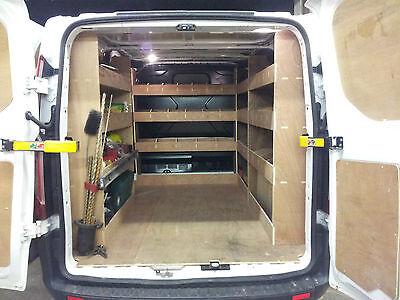 Ford Transit Custom Van  Racking SWB COMPLETE , Plywood Shelving, tool Storage