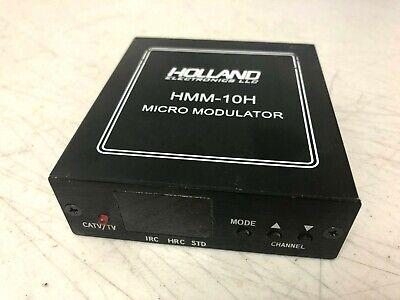 HMM-10H Holland Electronics UHF Cable TV Mini Modulator RF Output