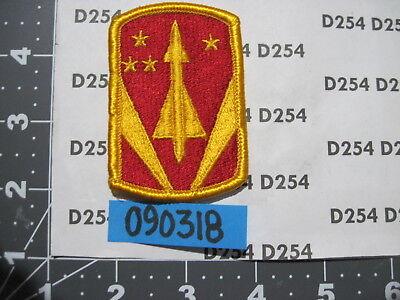 Army color Shoulder PATCH 31st AIR DEFENSE ARTILLERY BRIGADE  ADA FREE SHIP!