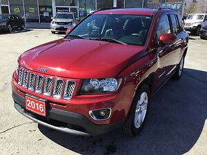 2016 Jeep Compass High Altitude | Sunroof | Leather