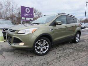 2013 Ford ESCAPE SEL CLEAN CAR PROOF NAVIGATION LEATHER HEATED S