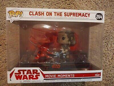 Funko POP! Star Wars Movie Moments #264 Clash on the Supremacy Rey Praetorian