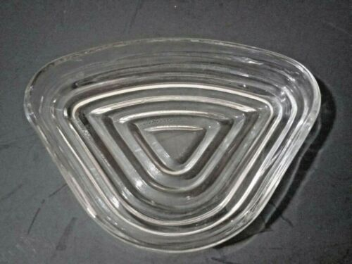 Vintage Clear Manhattan Glass Triangle Relish Insert by Anchor Hocking Single