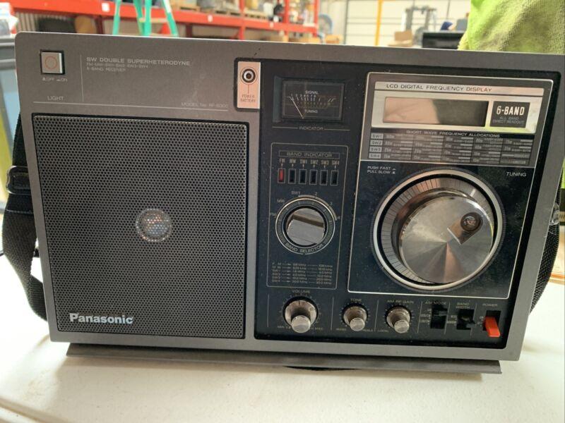 Panasonic SW Double Superheterodyne 6 Band Model Rf-b300 Tested