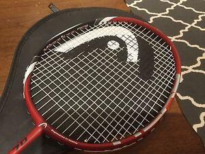 Head titanium 70 badminton racquet
