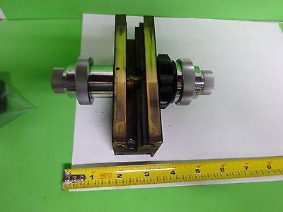 Microscope Part Wild Switzerland M20 Brass Micrometer Stage As Is Bin72-13