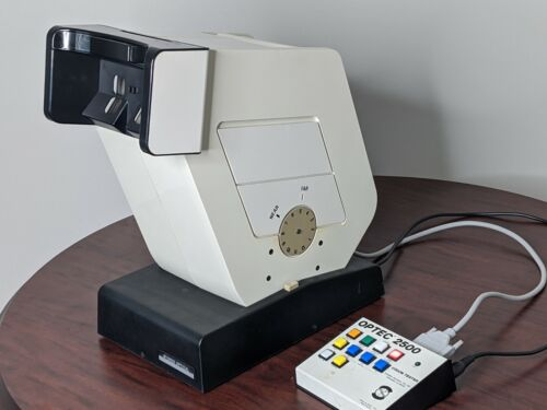 OPTEC 2500 VISION SCREENER STEREO OPTICAL WITH PERIMETRY TEST USED