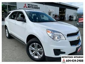 2011 Chevrolet Equinox LS AWD; Local BC vehicle! Mint!