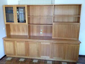 Wall unit. Tasmanian oak Beaconsfield Fremantle Area Preview