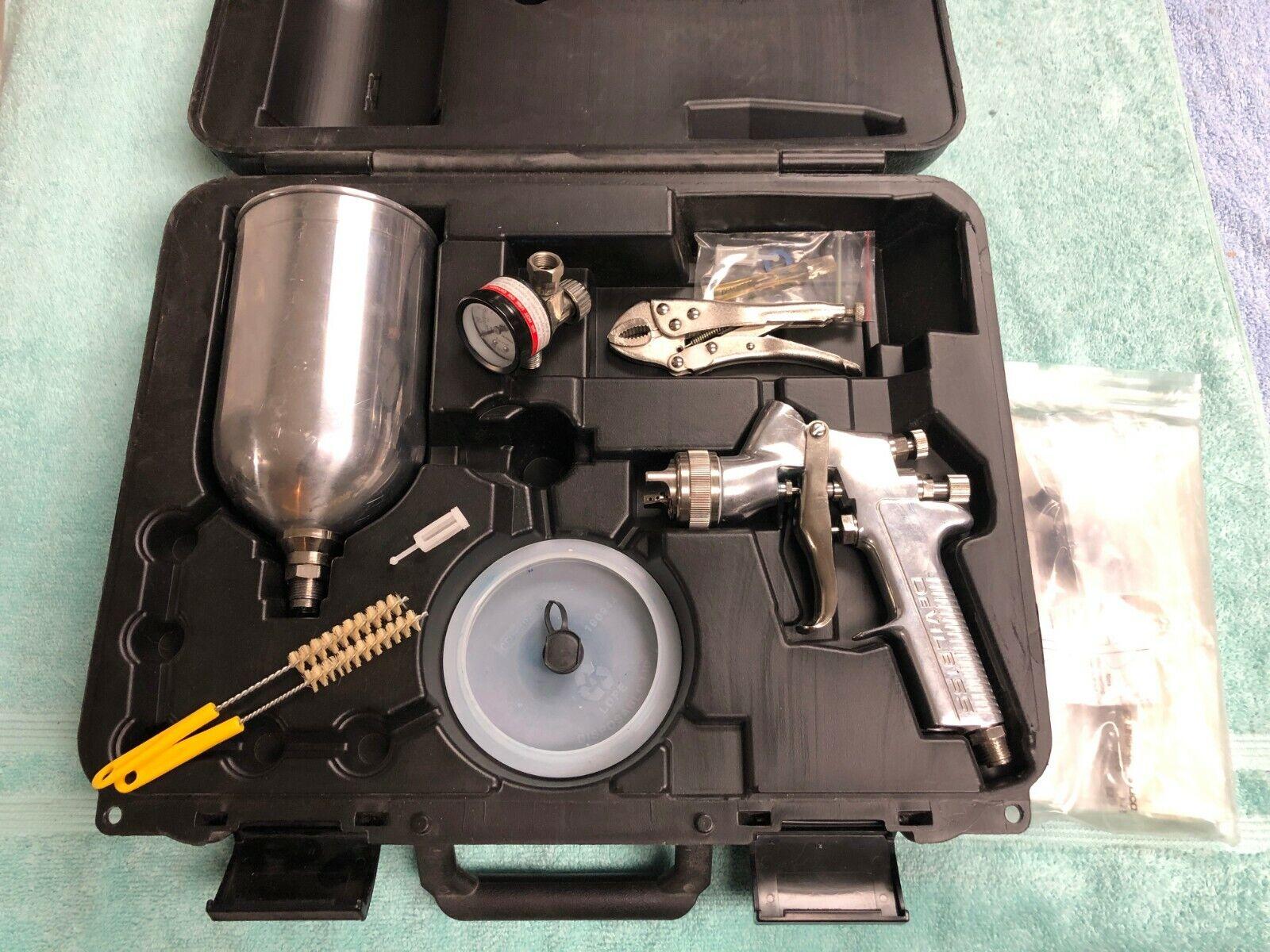 Devilbiss JGA-535G 1.4 Tip Gravity Feed Spray Gun w/ Cup, GTI-213-14 Tip