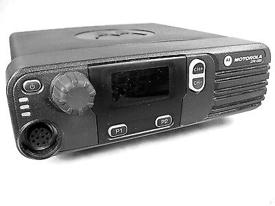 Motorola Xpr4350 Uhf Mototrbo 40w Mobile Radio Wnew Accessories