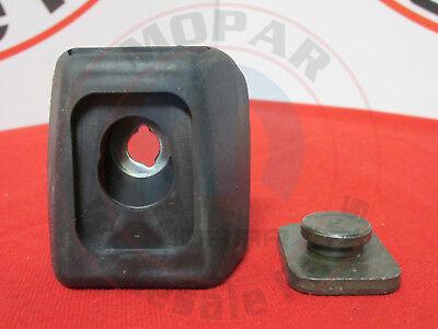 DODGE SPRINTER Driver Side Left Rear Panel Door Bumper w/ Magnet NEW OEM MOPAR