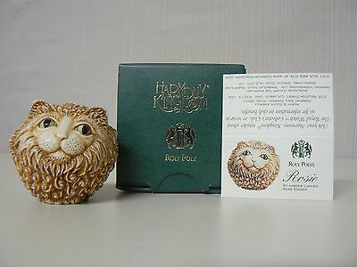 Harmony Kingdom ROSIE- HARD BODY Roly Polys Adam Binder Cat Retired