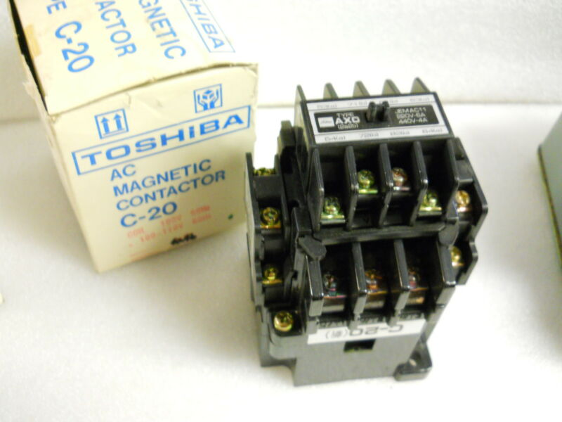 TOSHIBA C-20 AC MAGNETIC CONTACTOR NEW