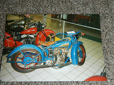 OLD VINTAGE MOTORCYCLE PICTURE PHOTOGRAPH INDIAN BIKE #2
