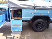 Ezytrail camper trailer used twice Hobart CBD Hobart City Preview