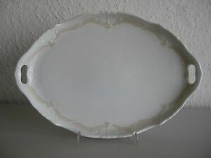 Hutschenreuther/ Tirschenreuth Baronesse Veronique Tablett, Servierplatte