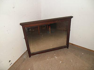 antique wash stand mirror