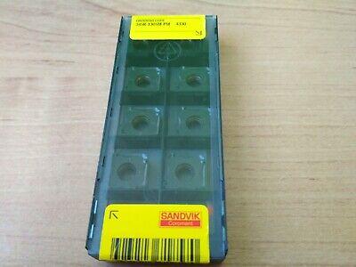 Sandvik 345r-1305m-pm 4330 10 Pcs Original Carbide Inserts