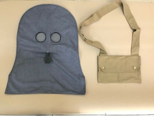 UK WWI P OR PH HOOD WITH CARRY BAG