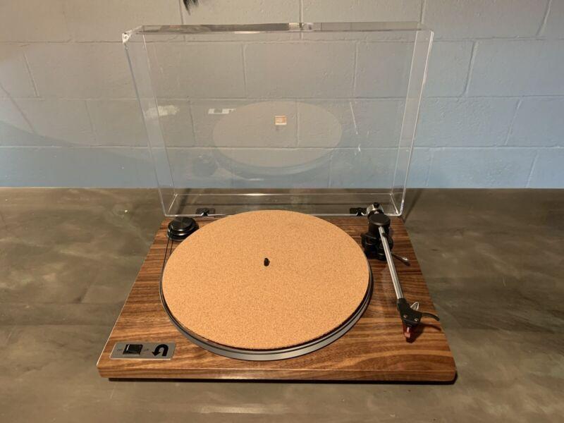 U-Turn Audio Orbit Special Walnut Turntable | Ortofon 2M Red | Cork Mat | Extras