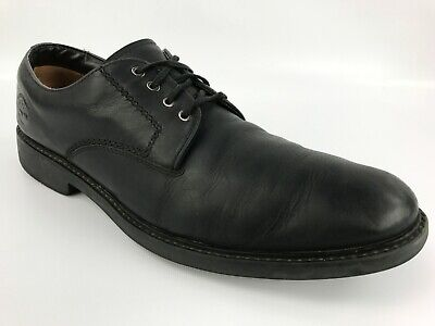 Timberland Men's Black Leather Oxford Shoes Size 12 M   //  3145R