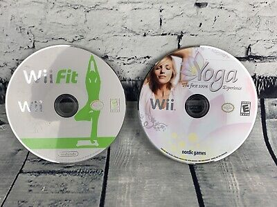 Nintendo Wii Fit and Yoga Games Tested! Discs Only