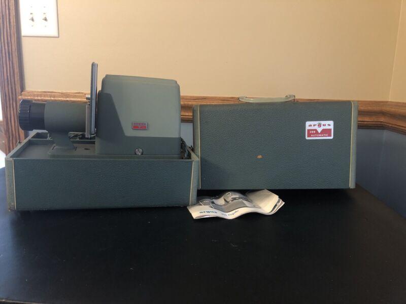 Vintage Argus 300 Automatic Slide Viewer - Works