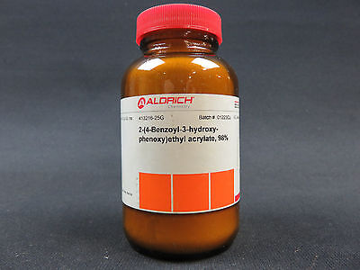 2-4-benzoyl-3-hydroxyphenoxyethyl Acrylate 98 25 Grams Aldrich 413216