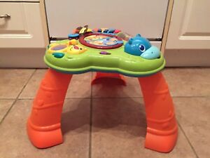 Baby musical activity play table
