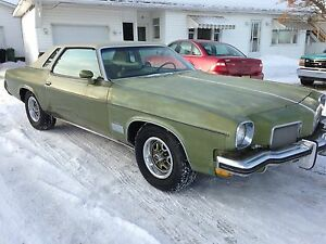 1973 CUTLASS  SUPREME SURVIVOR ORIG PAINT !