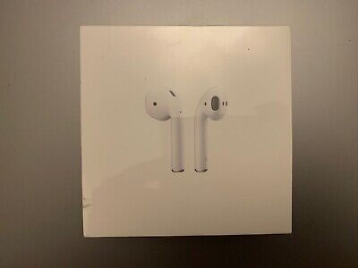 Apple AirPods 2nd generation With Charging Case New and Sealed 100% Genuine