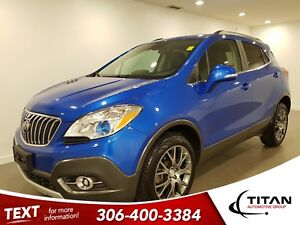 2016 Buick Encore Sport Touring|AWD|CAM|NAV|Low KMS|Leather
