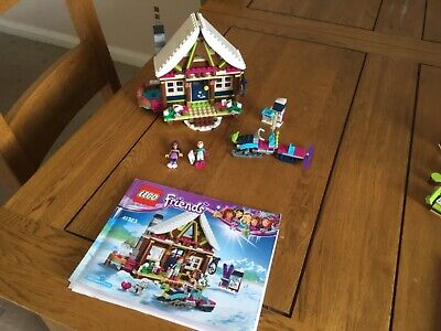LEGO Friends 41323 Snow Resort Chalet With Instructions