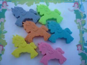novelty unicorn childrens soaps x 6 handmade by soapKraft