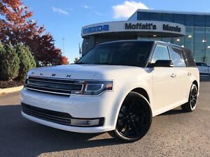 2018 Ford Flex LIMITED AWD 3.5L V6 LEATHER, SUNROOF, HEATED SEAT