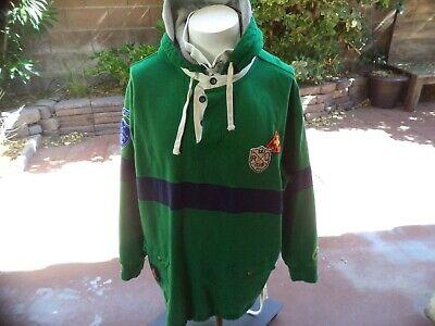 - Polo Ralph Lauren Ski Patrol Hooded Rugby shirt size 3XB