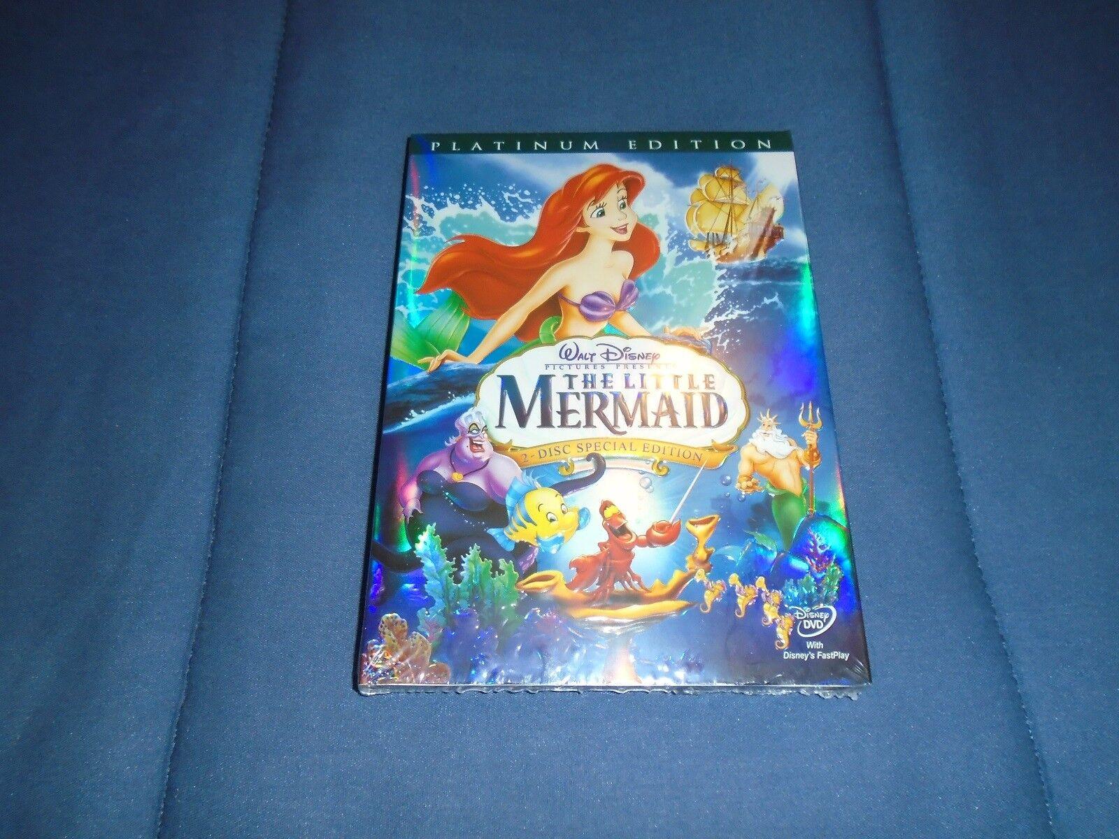 Купить The Little Mermaid (DVD, 2006, 2-Disc Set, Platinum Edition)