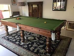 Royal Pool Billiard Table solid wood and slate plus cover Mooroolbark Yarra Ranges Preview