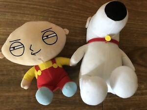 Family Guy talking plush toys