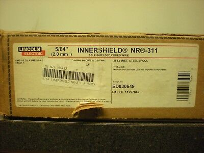 Lincoln Electric Welding Wire 564 Nr-311 Innershield 25lbs Ed030649