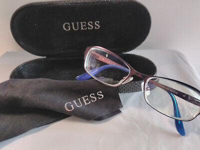 GUESS GU 2424 Purple 51 x 15 135 mm Eyeglasses &Hard Case