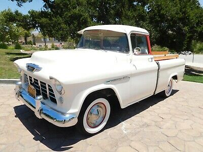 1955 Chevrolet Other Pickups Cameo Carrier Pickup Original RWD Truck 1955 Chevrolet Cameo pickup truck. CALIFORNIA ORIGINAL. .