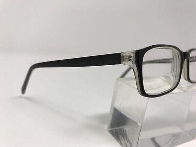 Eye Buy Direct Eyeglasses Screen Black Plastic Frame 52-17-135 Full Rim M496