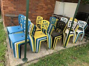 Plastic chairs x 50