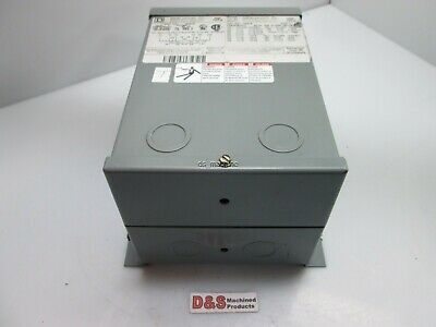 Square D 1s3fis Dry Transformer Primary 240480vac Secondary 120240vac 1kva
