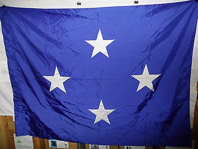 flag811 US Navy 4 Star Full Admiral flag 68 x 52 6-20-61