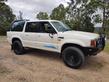 1992 FORD RAIDER 4X4 WAGON MANUAL