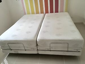 Adjustable electric long split king beds Mountain Creek Maroochydore Area Preview